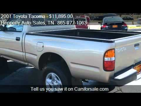 2001 Toyota Tacoma Regular Cab 4WD for sale in Maryville, TN