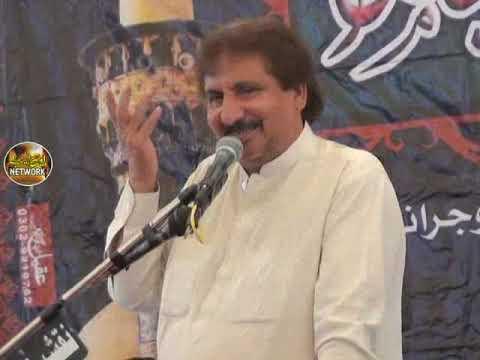 Zakir Ghulam Jafir Tiyar majlis aza 26 rajab 2019 Haidry under pass Gujranwala
