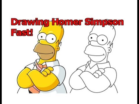 Simpson Drawing of Yourself How to Draw Homer Simpson