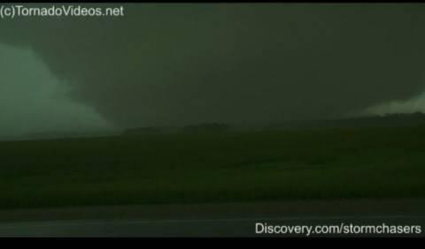 Violent Minnesota wedge tornado intercept!!!