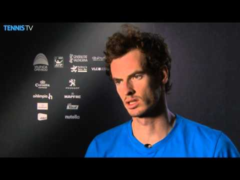 Valencia 2014 Thursday Interview Murray