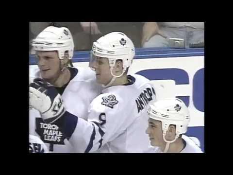 Первый хет-трик Николая Антропова в НХЛ / 20 декабря 1999 года