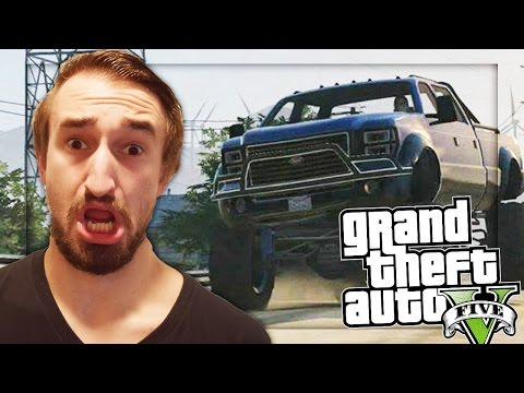 BEANS TRUCK RAMPAGE - GTA 5 ONLINE FUNNY MOMENTS #8