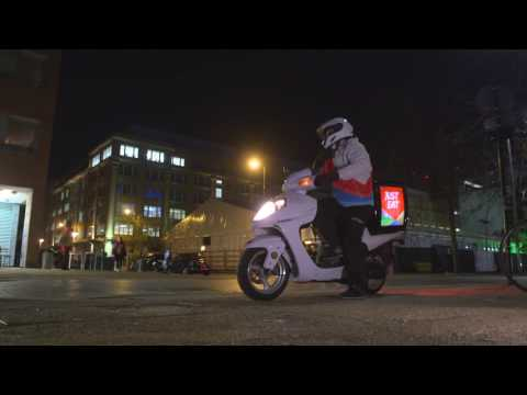 Just Eat delivery driver intro 2016