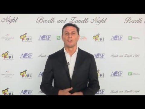 Javier Zanetti presenta 'Bocelli and Zanetti Night'