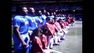 National Anthem of india in world cup singing by indian player yam tv