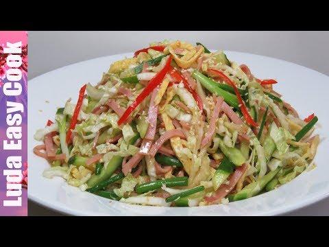 ВКУСНЫЙ ЯПОНСКИЙ САЛАТ «КИОТО» С ОБАЛДЕННОЙ ЛЕГКОЙ ЗАПРАВКОЙ | Japanese Salad  NEW YEAR RECIPES