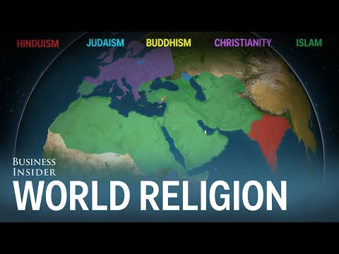 Animated Map Shows How Religion Spread (2.35)