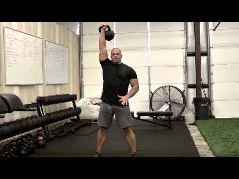 Kettlebell Clean and Press Image 1