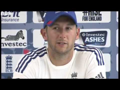 BBC Sports Ashes 2013  Tim Bresnan accepts umpiring decisions