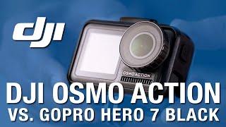 DJI OSMO ACTION vs GoPro Hero 7 BLACK - ULTIMATE GUIDE