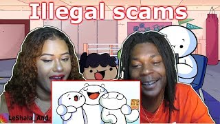 THEODD1SOUT SCAMS THAT SHOULD BE ILLEGAL REACTION
