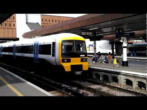 Southeastern Trains at London Bridge, 28/1/2012 (HD)