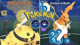 PROBANDO LA NUEVA MECÁNICA DE CARGADOS EN PVP MÁS LOS LÍDERES DE EQUIPO! [Pokémon GO-davidpetit]
