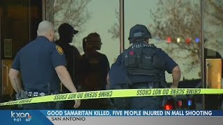 1 killed, 5 injured in shooting at San Antonio mall