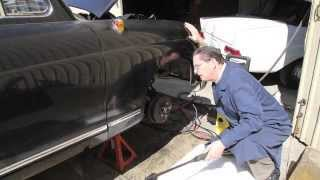 1959 Mercedes 180D Diesel Sedan Part 2 : Preserving Underbody Sheetmetal
