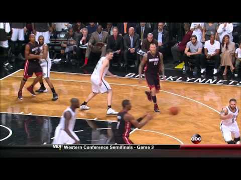 NBA Playoffs Nets-Heat Scuffle: Alan Anderson & Ray Allen