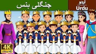 جنگلی سوان   Wild Swans in Urdu   Urdu Story   Urdu Fairy Tales