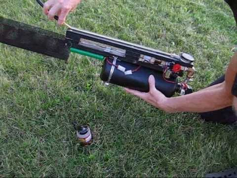 DIY compressed air BB machine gun 2