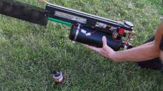 Homemade BB machine gun