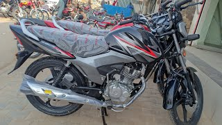 Honda CB125F full review with sound test.