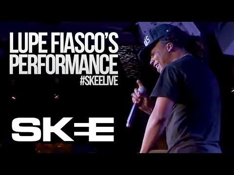 Lupe Fiasco Performs 'Crack' On SKEE Live
