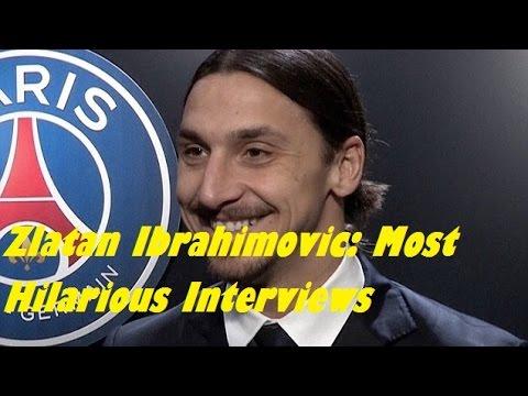 Zlatan Ibrahimovic: Most Hilarious Interviews