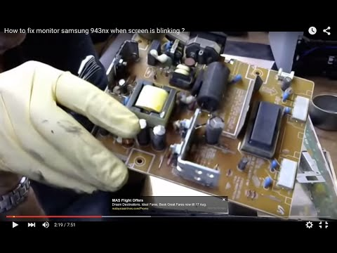 Repair LCD Monitor Samsung 943nx