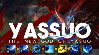 YASSUO | THE NEW GOD OF YASUO | THE GUY WHO CLAPPED FAKER!