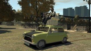 Grand Theft Auto IV - Mr. Bean's Mini Cooper (MOD) HD