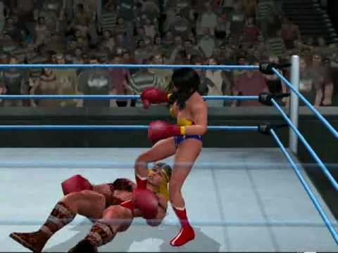 Boxing - Wonder Woman vs Viking Queen (HD) Video
