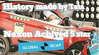 Tata Nexon Makes History As India's First 5 Star Car || Global NCAP Crash Test