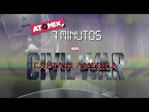 #Atomix7Minutos – Captain America: Civil War