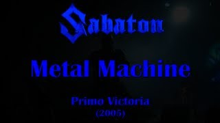 Watch Sabaton Metal Machine video