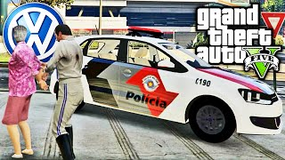 GTA V Policia - Assalto no Cinema
