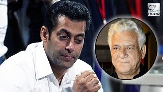 Salman Khan REACTS On Om Puri
