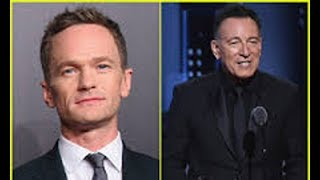 Neil Patrick Harris Criticizes Bruce Springsteen