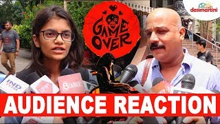 Game Over | Audience Reaction | Taapsee Pannu| Ashwin Saravanan