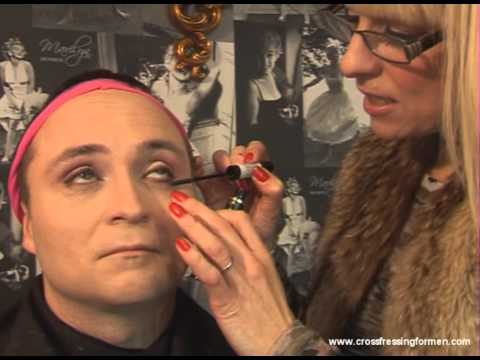 Cross Dressing For Men Presents Day Wear For Eyes Step 3 Mascara Lower Lashes