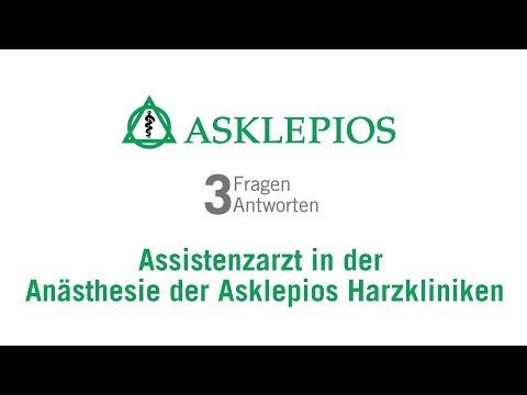 Assistenzarzt in der Anästhesie der Asklepios Harzkliniken: 3 Fragen 3 Antworten| Asklepios