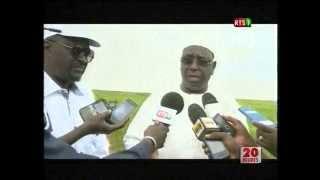 Macky Sall sur le classement du Senegal dans le DB 2015 : Le Sénégal progresse