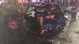 Accidente arrancones periferio norte Golf gti vw beetle ford mustang drag racing