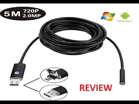 new rice android otg smartphone usb endoscope wire camera
