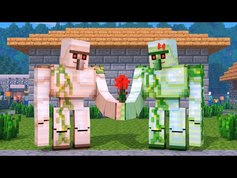 Zombie vs Villager Life: FULL ANIMATION - Alien Being Minecraft Animation