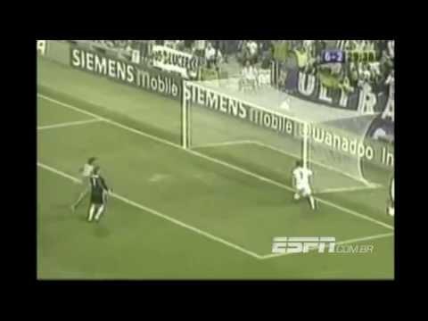 Real Madrid 7 x 2 Valladolid - Campeonato Espanhol 2003/2004