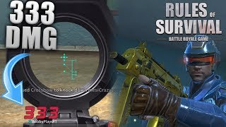 MASTERING THE CROSSBOW IN RULES OF SURVIVAL!