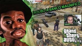GTA V RP Vida Real - ROUBO A BANCO O MASSACRE AO BANCO CENTRAL