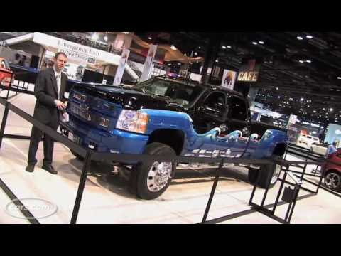 Big Trucks at the 2009 Chicago Auto Show Video