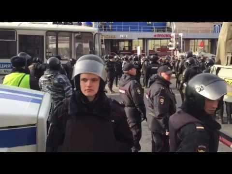 путин вор! ментовской террор в москве