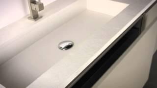 Mobili bagno su misura EOS di Edonè Design